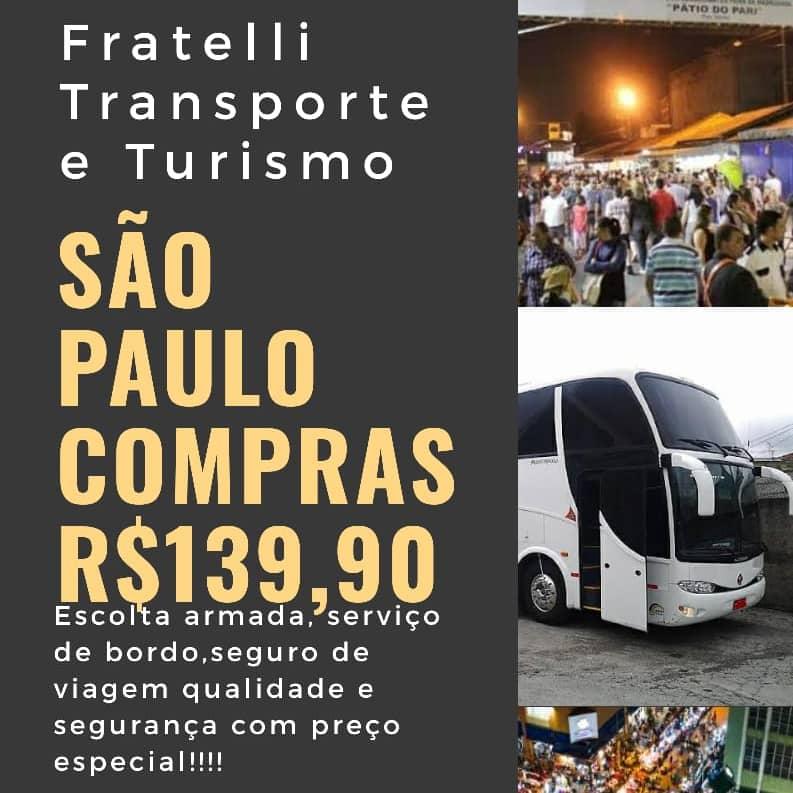 VIAGENS PARA SÃO PAULO